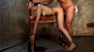 Sexe BDSM pour Sasha Grey!