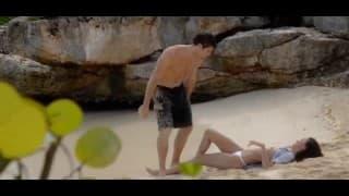 Une petite scène à la plage