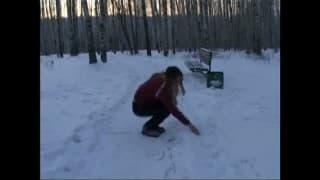 Vidéo amateur d'un jeune couple