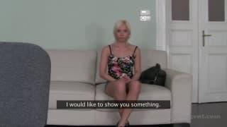 Lisa se fait bien donner le compte pendant le casting