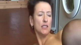 Maman française pour une pause baise !