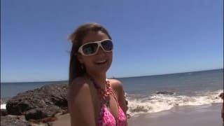 Allie Haze - Un limage intensif pour cette brunette