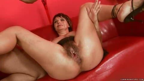Birthing orgasm video