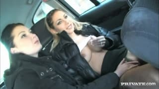 Belicia et Rachel Evans - De l'exhibe et de la baise !