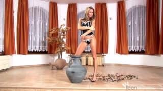 Veronika Fasterova prête pour une scène XXX !