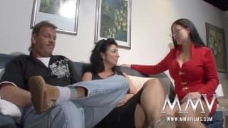 Un couple qui s'éclate avec une bonne session de sex