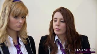 Samantha Bentley et une étudiante grave bandante