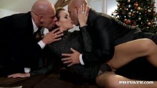 Samantha Joons et deux hommes en chaleurs !