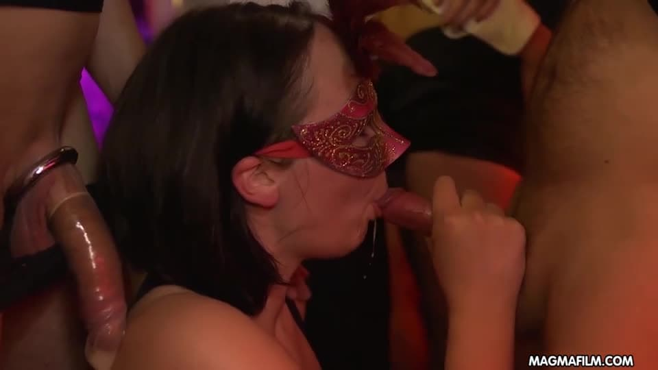 Orgie masquée