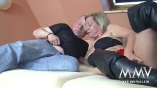 Un couple d'amateurs allemands bien pervers