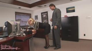 Une secrétaire qui a fait des bétises !