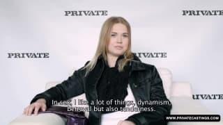 Elle prend copieux dans ce casting porno !