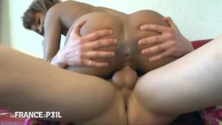 Le casting porno de Shauna la reine du shopping