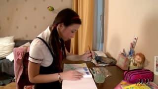 Marizza sulfureuse étudiante en vidéo
