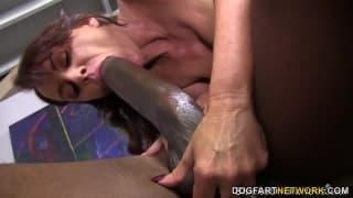 Janet Mason se fait sauter par Mandingo