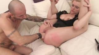 Un peu de porno hard en mode interracial !