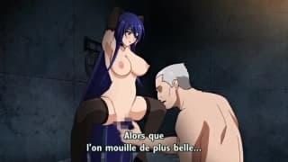 Taimanin Yukikaze : Hentai épisode 02 !!!