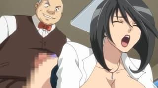 Ils baisent leur prof dans ce Hentai bandant