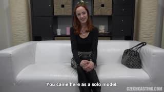 Casting porno avec Katerina une rousse fraîche