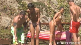 Groupe de sexe avec Alexa Jaymes et Lyla Storm