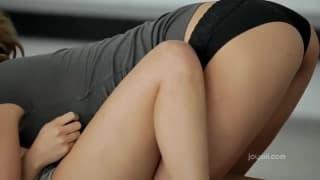 Broutage de minou en regle pour ces lesbiennes
