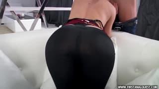 Totale anal pour son petit cul de salope