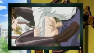 Hentai percutant avec des petites bombasses