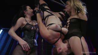 Veruca Mona et Belle pour un bondage hardcore