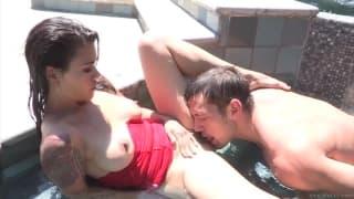 Chaud massage sexe film